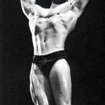 Steve Reeves demonstrates serratus pose