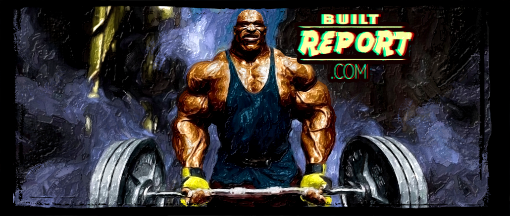 Ronnie Coleman Built Report Banner