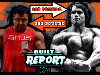 King Kamali vs Arnold Schwarzenegger