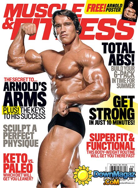 2016 Arnold Schwarzenegger Muscle and Fitness Cover