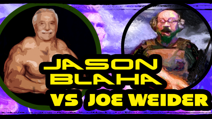 Jason Blaha vs Joe Weider