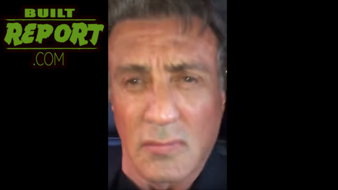 Sylvester Stallone in Police Chase