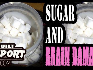 Sugar Causes Brain Damage