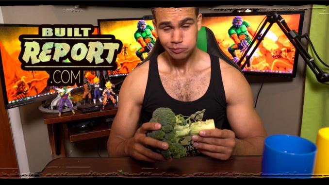 Vegan Gains Broccoli Challenge