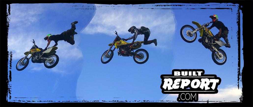 American Heat Palm Springs Motorcycle Weekend Stunts
