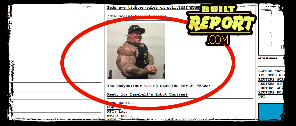 Rich Piana on Drudge Report