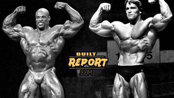 Ronnie Coleman vs Arnold – Built Report